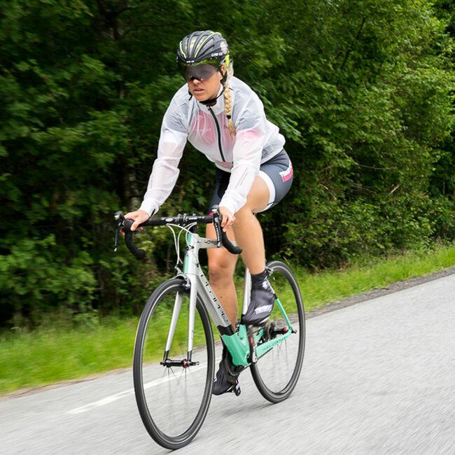 Elite vindjacka cykel