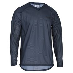 Basic Mesh O-Shirt LS Jr Steel Blue 130