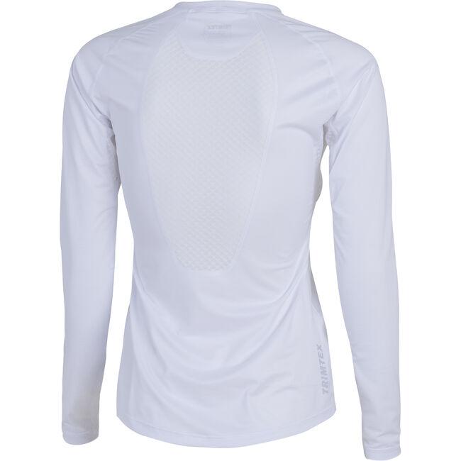 Fast långärmad t-shirt dam