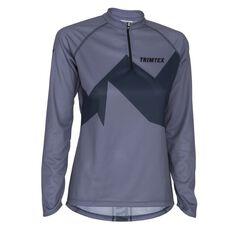 Rapid 2.0 O-Shirt LS Women Steel Blue XS