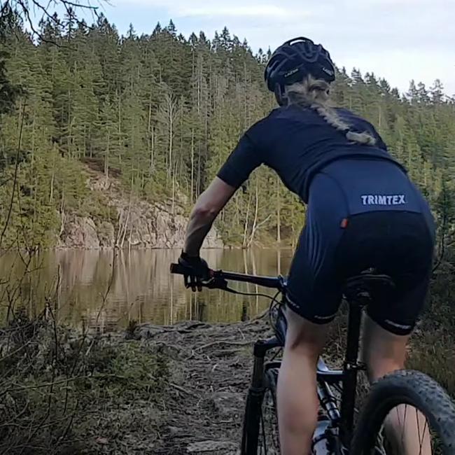 Team cykelshorts dam
