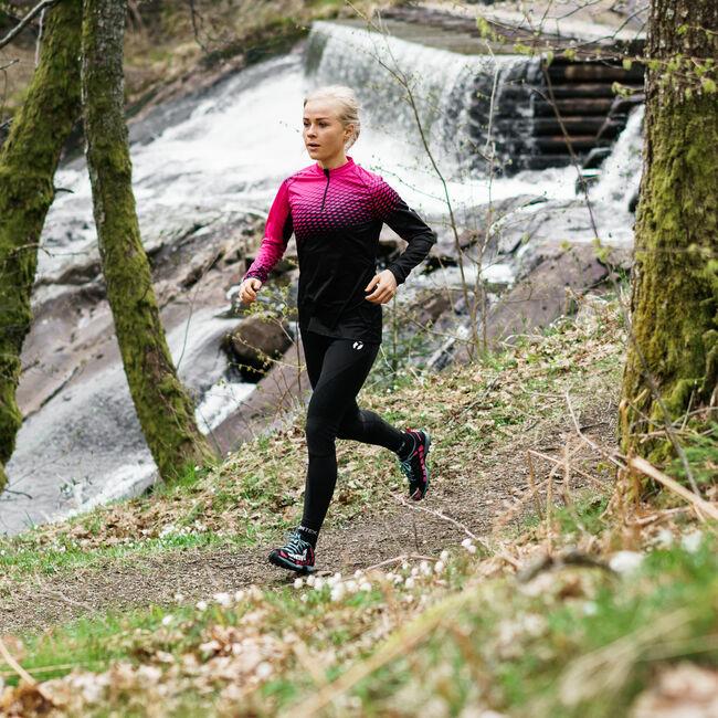 Trail långärmad tröja dam