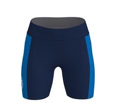 Run 2.0 korta tights dam - Mörkblå